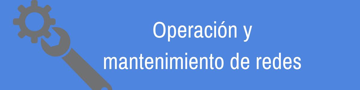 Soluciones de Operación y mantenimiento de redes de fibra óptica